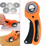 45mm Rotary Cutter Sewing Quilting Fabric Cutting Craft Tool With 5pcs Blades