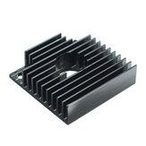 3 szt aluminiowego radiatora 40 * 40 * 11mm do wytłaczarki do drukarek 3D