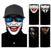 Druk cyfrowy 3D Wielofunkcyjne chusty przeciwsłoneczne, chusty, maski na twarz, szalika, pyłoodporny UV ochraniacz szyi