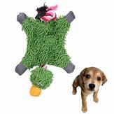 Juguetes de perros de perro de juguete juguetes de juguete de felpa de pato de papa lindo juguetes de cuerda duradera juguetes de mascotas