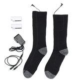 Battery Heated Socks Feet Foot Warm Electric Heater Shoe Boot Winter Hunting