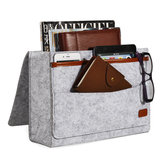 Bedside Pocket Storage Baskets Hanging Bag Felt Sofa Phone Book Organizer Remote Home Holder