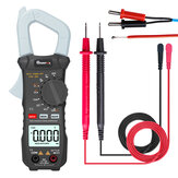 MUSTOOL X1 Pocket 6000 Hitungan True RMS Clamp Meter AC / DC Voltage & Current Digital Multimeter Meter Digital Otomatis Dengan Output Gelombang Persegi Ω / V / A / Diode / Frekuensi / Uji Kontinuitas