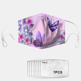 PM2.5 7-piece Gasket Printed Breathable Comfort Mask