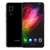 SHARP AQUOS S2 (C10) Global Version 5,5 FHD + NFC Android 8.0 4GB RAM 64GB ROM Snapdragon 630 Octa Core 2.2GHz 4G Smartphone