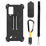 Original Ulefone Shockproof Anti-Slip with Anti-Lost Hook TPU + PC Protective Case Back Cover for Ulefone Armor 10