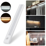 8 LED Motion Sensor Closet Light Wireless Night Cabinet Bateria Powered