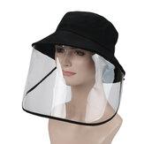 Sicherheitsschutz Vollgesichtsmaskenschutz Abnehmbare faltbare Anti-Staub-Anti-Spritz-Gesichtsabdeckung