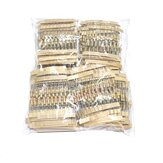 1000pcs 1/2W 5% 100Values 1-10M ohm Carbon Film Resistors Assortment Kit Electronic Components