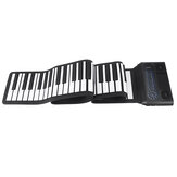 Iword S3088 88 Keys Professional Hand Roll Up Keyboard Piano Built in Dual Speakers