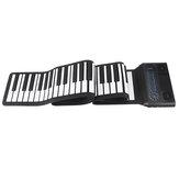 Iword S3088 88 toetsen Professionele hand oprolbare toetsenbordpiano Ingebouwde dubbele luidsprekers