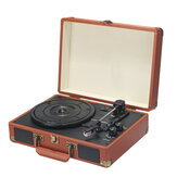 Bluetooth Vinyl Record Player Turntable 2.0 Stereo Speaker 3 Speed Radio