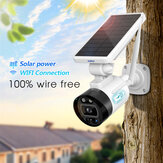 OUERTECH 1080P 2MP Solar Wireless Battery Camera WIFI Outdoor Security IP Camera Alexa Cloud IP66 Waterproof CCTV Surveillance