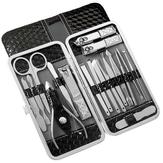 YFM® 18-delige roestvrijstalen nagelknipper set Pedicure-gereedschap