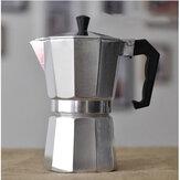 ACLイタリアンコーヒーポット八角形モカポット家庭用耐熱アルミニウム