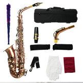 MY S0189 antigo saxofone alto bronze instrumento de sopro de sopro