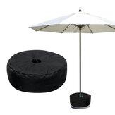 46x15cm Heavy Duty Sand Bags Umbrella Weight Bag Weatherproof Parasol Umbrella Stand Base for Outdoor Tent Umbrella Base Stand Patio Garden