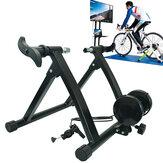 Suporte para treinamento de bicicleta de estrada de MTB de 24-29 polegadas Plataforma de treinamento de bicicleta de controle com fio Aptidão Ciclismo de exercício interno ao ar livre