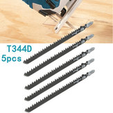 5pcs HCS T Shank Saw Blades Wood Plastics Plywood Cuttingtools for Jigsaw