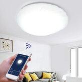 48W WiFi LED Deckenleuchte Stepless Dimming APP Control Deckenleuchte Wohnzimmer Esszimmer Schlafzimmer Funktioniert mit Alexa Google Home IFTTT