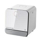 VIOMI VDW0402 Lavadora de louças de bancada sem instalação 900W 220V Mijia Controle inteligente de APP UV Antibacteriano para cozinha