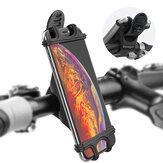 Essager elastyczna kierownica rowerowa z PVC uchwyt na telefon komórkowy stojak na urządzenia od 4,0 do 6,5 cala na iPhone 12 POCO X3 NFC