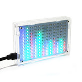 Geekcreit® 5V LED Music Spectrum Electronic DIY LED Flash Kit 12x11FFT 108 x 70 x 16mm