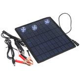 Carregador portátil do poder Bateria do painel solar de 18V 5.5W para o ATV do velomotor do barco do carro