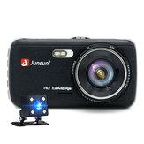 Junsun 4 pouces complet HD ADAS double objectif 7961709 1296P enregistreur vidéo caméra de vision nocturne voiture DVR