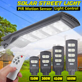 AUGIENB Solar Powered 140/280/420 / 560LED Street Light PIR Motion Radar Sensor Waterproof Outdoor Garden Lamp