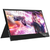 BlitzWolf® BW-PCM5 15.6 Inch Touchable UHD 4 K Type C Layar Monitor Komputer Gaming Portabel untuk Smartphone Tablet Laptop Konsol Game