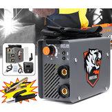 ZX7-200 220V 10-200A 4000W Håndholdt Mini MMA Elektrisk Stick Welder Inverter ARC Svejsemaskine