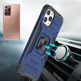 Bakeey para Samsung Galaxy Note 20 Ultra / Galaxy Note20 Ultra 5G Caso Magnético com suporte de suporte de anel PC à prova de choque + TPU capa protetora Caso traseira