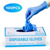 IPRee® 100 piezas desechables cámping Picnic PVC Guantes Prevenir el polvo Impermeable Guante antiincrustante a prueba de aceite