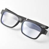 Bakeey K3 Anawer Call Play Music Wireless bluetooth Gafas Control de un clic Anti-light Blue BT5.0 Smart Gafas