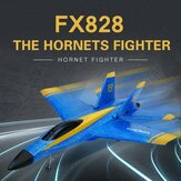 Flybear FX828 Hornet Fighter 290mm Envergure 2.4GHz 2CH EPP RC Avion Warbird RTF