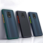 Bakeey untuk Xiaomi Redmi Note 9S / Redmi Note 9 Pro/Redmi Note 9 Pro Max Case Shockproof Anti-sidik jari Matte Tembus Keras PC & Soft TPU Edge Protective Case