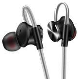 FONGE W3 Słuchawka sportowa Adsorpcja magnetyczna Wired Bass Słuchawki douszne z mikrofonem