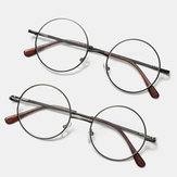 2 Color Round Thin Frame Reading Glasses