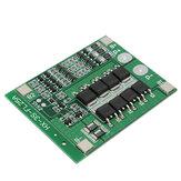 3S PCB Placa de Protección de la Batería de Litio Li-ion 18650 BMS con Función de Equilibrio 11.1V 25A