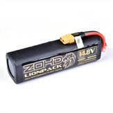 ZOHD LIONPACK 4S2P 18650 14,8 V 7000 mAh Li-ion Batteria Pack per ZOHD DART XL Enhanced Version / ZOHD Tal0n GT Rebel / Sonicmodell Skyhunter / Sonicmodell Mini Skyhunter V2/Sonicmodell-HD-Wing / Sonicmodell Binary / Sonicmodell AR Wing Pro RC Airplane Sp