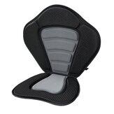 EVA Kayak Rückenlehnensitz mit Taschenbasis Aufblasbares Boot Gepolsterte Sitzablage Rucksack Kissen Rudern Angeln PVC Bootszubehör
