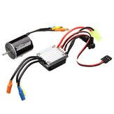 Racerstar 2430 Sensorless Waterproof Motor 7200/5800KV 25A ESC For 1/18 1/20 Cars