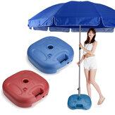20L Vægt sandposer Paraply Base Stand Udendørs Sun Shelter Paraply Fast Sandbag til 18-32mm Parasol Pole