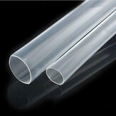 10mm 200mm/500mm/1m/2m/3m/5m Clear Heat Shrink Tube Electrical Sleeving Car Cable Wire Heatshrink Tubing Wrap