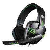 KX101 Gaming Headphone 3.5mm Trådlöst Örhörlurs Headset med mikrofon