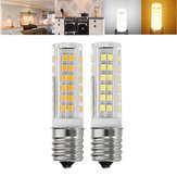 E17 5W SMD2835 Dimmable Non Dimmalbe 76 LED Blanc chaud Blanc pur Ampoule blanche AC110V-130V