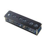 STM8S005制御DC5V電子IN14ニキシー管デジタルLED時計DIYギフト回路基板PCBARGNランプ時計チップICシェル付きマイクロUSB