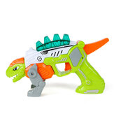 2 in 1 Dinosaur Model Toy Fun For Kids Children Boys with Sound Light Gift Early Education Puzzle Toy for Children