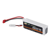 XF POWER 11.1V 2200mAh 40C 3S Lipo Batteria T Plug per RC Car elicottero